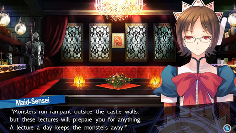 Dungeon Travelers 2: The Royal Library & The Monster Seal Screenshot