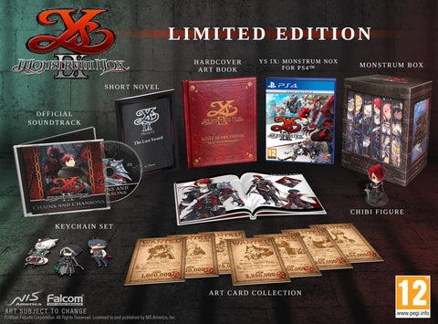 Ys IX: Monstrum Nox - Limited Edition - PS4®