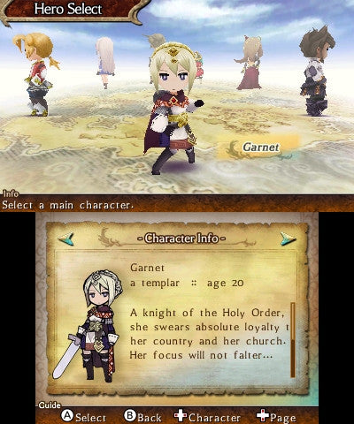 The Legend of Legacy Screenshot
