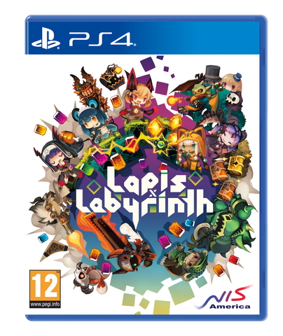 LAPIS X LABYRINTH - Standard Edition - PS4
