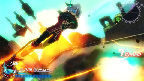 Rodea the Sky Soldier Screenshot