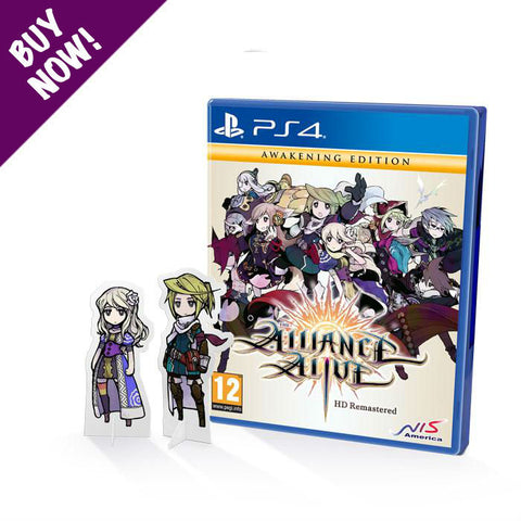 The Alliance Alive HD Remastered - Awakening Edition - PS4