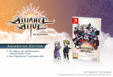The Alliance Alive HD Remastered - Awakening Edition - Nintendo Switch