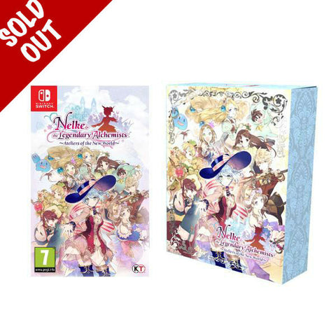 Nelke & The Legendary Alchemists Limited Edition - Nintendo Switch