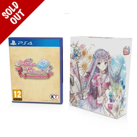 Atelier Lulua: The Scion of Arland - PS4 - Limited Edition