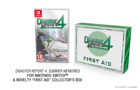 Disaster Report 4 - Summer Memories - Limited Edition - Nintendo Switch™