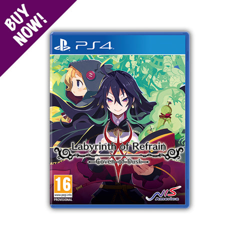 LABYRINTH OF REFRAIN: COVEN OF DUSK - Standard Edition - PS4®