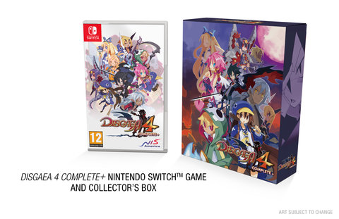 Disgaea 4 Complete+ - HL-Raising Edition - Nintendo Switch