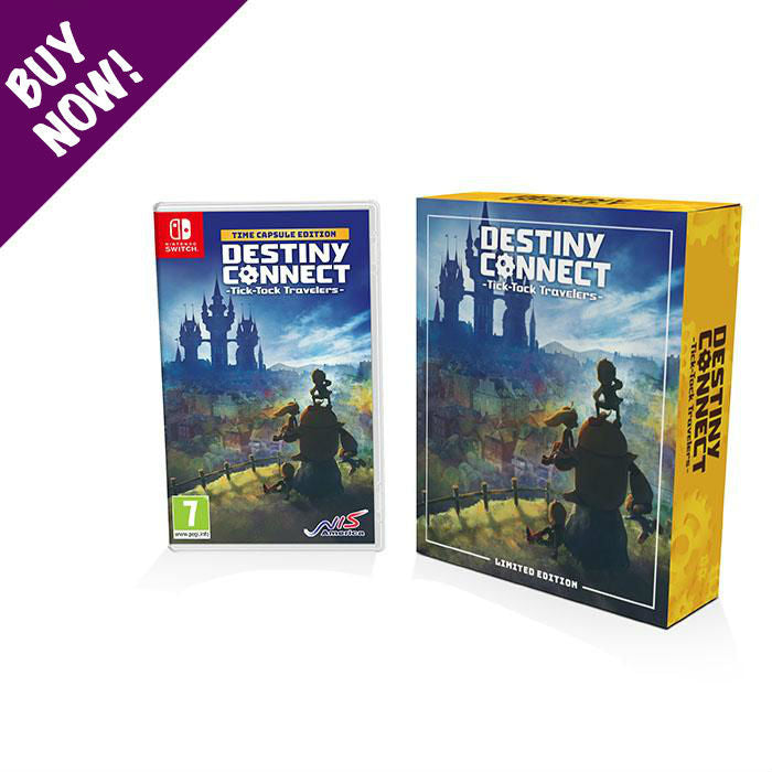 Destiny Connect: Tick-Tock Travelers - Limited Edition - Nintendo Switch™