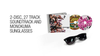 Danganronpa 1&2 Reload Soundtrack and Monokuma Sunglasses