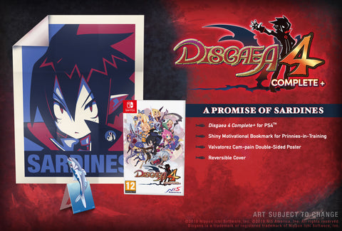 Disgaea 4 Complete+ - A Promise of Sardines - Nintendo Switch