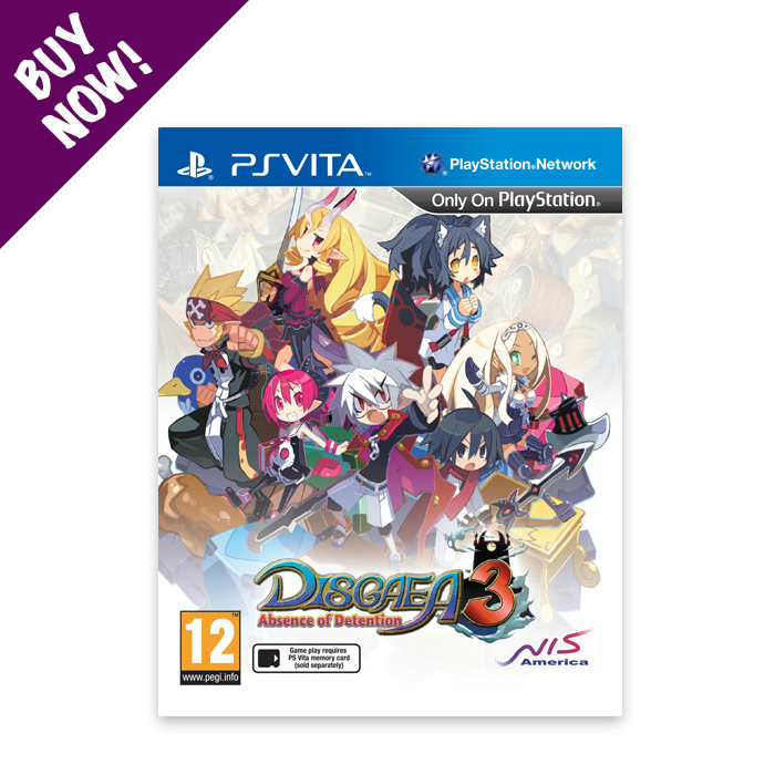 Disgaea® 3: Absence of Detention Game