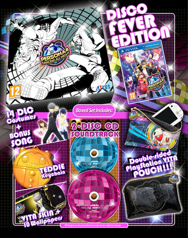 Persona 4 Dancing All Night - Disco Fever Edition Set
