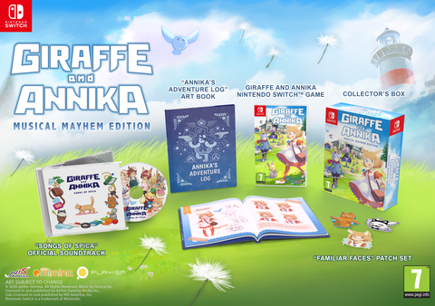 Giraffe and Annika Musical Mayhem Edition - Nintendo Switch™