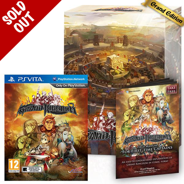 Grand Kingdom - PS Vita - Grand Edition Release Date: June 17th, 2016