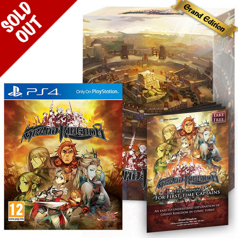Grand Kingdom - Grand Edition - PS4®