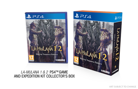 LA-MULANA 1 & 2 - PS4 - Limited Edition
