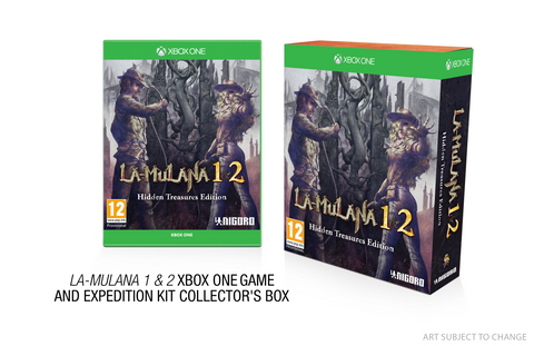 LA-MULANA 1 & 2 - Limited Edition - Xbox One