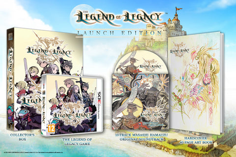 The Legend of Legacy - Launch Edition Set