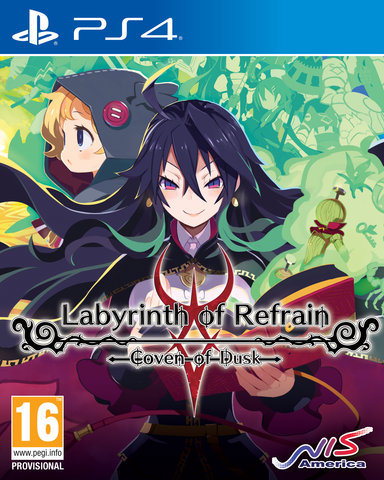 LABYRINTH OF REFRAIN: COVEN OF DUSK - PS4 - Game