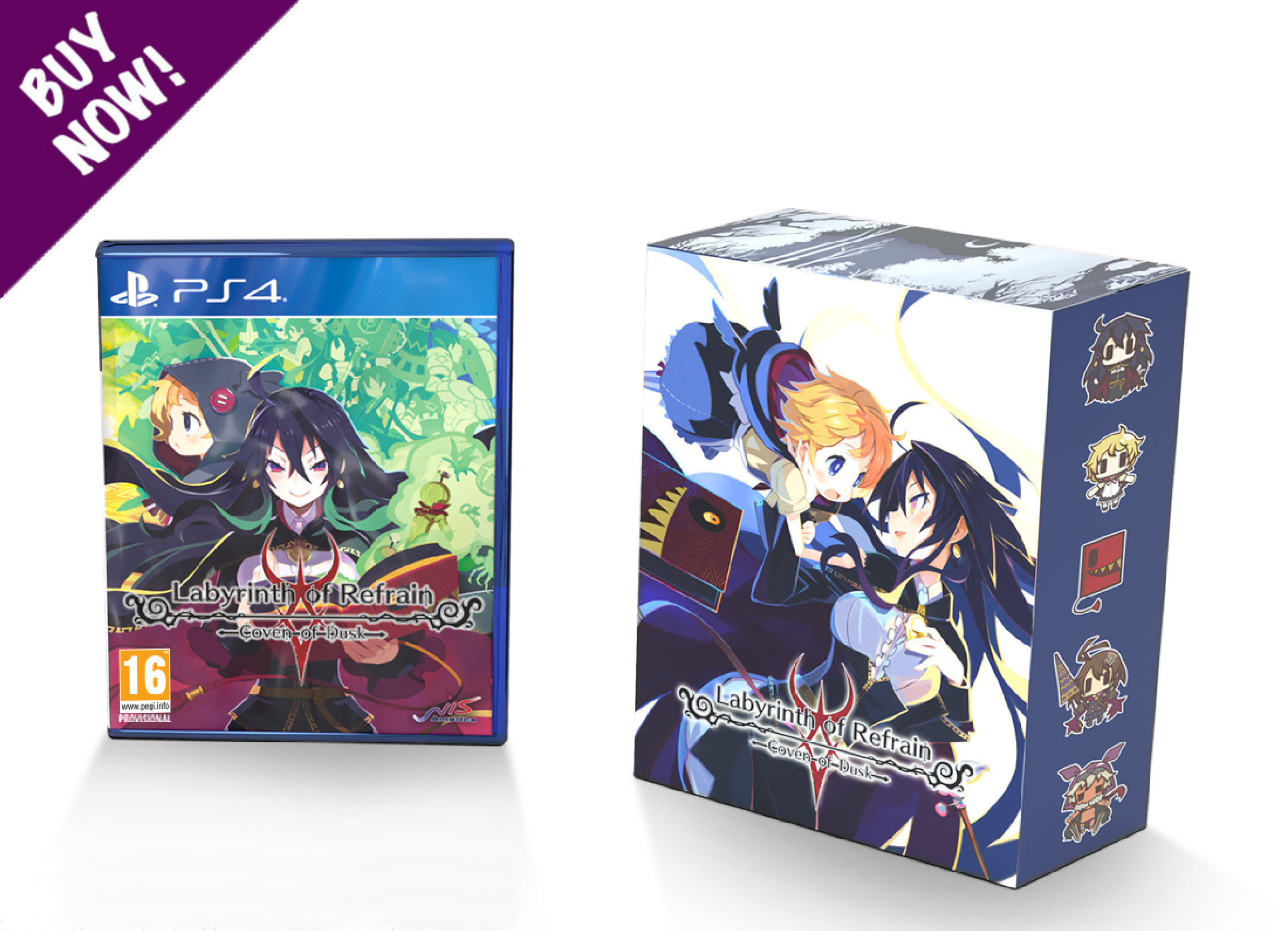 LABYRINTH OF REFRAIN: COVEN OF DUSK - PS4 - Limited Edition