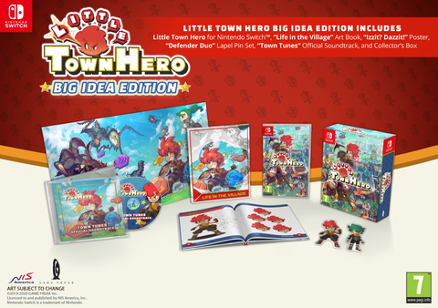 Little Town Hero Big Idea Edition - Nintendo Switch
