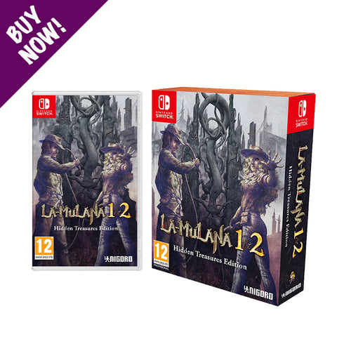 LA-MULANA 1 & 2 - Limited Edition - Nintendo Switch™