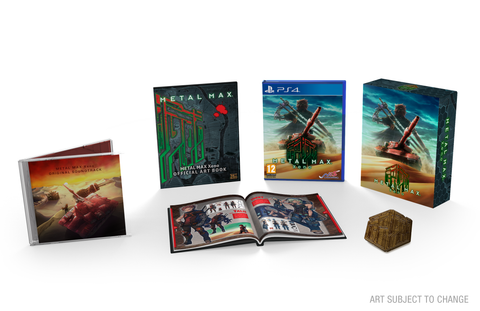 METAL MAX : Xeno - PS4 - Limited Edition