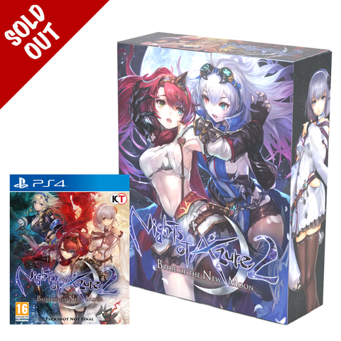 Nights of Azure 2: Bride of the New Moon Collector's Box and Game
