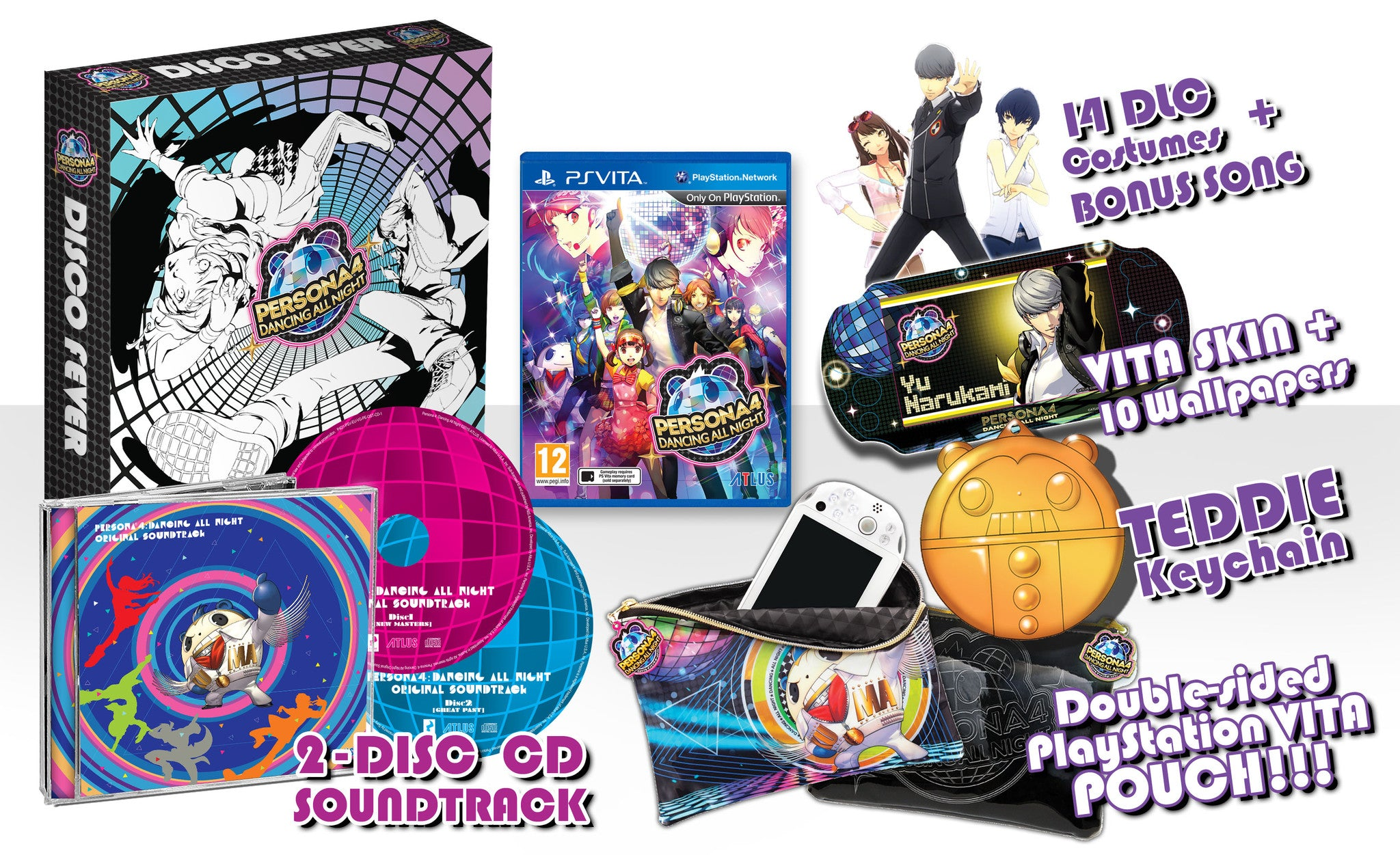 Persona 4 Dancing All Night Disco Fever Edition Nisa Europe