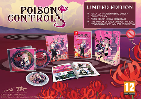 Poison Control - Limited Edition - Nintendo Switch™