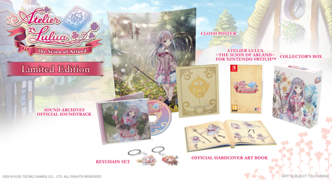 Atelier Lulua: The Scion of Arland - Nintendo Switch - Limited Edition