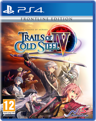 Trails of Cold Steel III, IV PS4® Bundle (+ Rean Extra Large T-Shirt)
