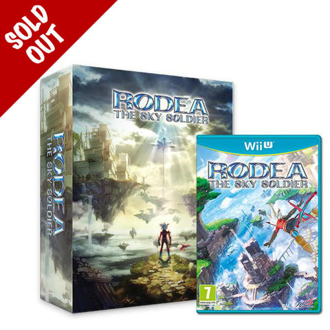 Rodea the Sky Soldier - Limited Edition + Key Of Time Pendant - Wii U