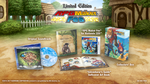 RPG Maker Fes - Limited Edition Set