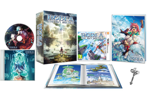 Rodea the Sky Soldier - Limited Edition + Key Of Time Pendant Set