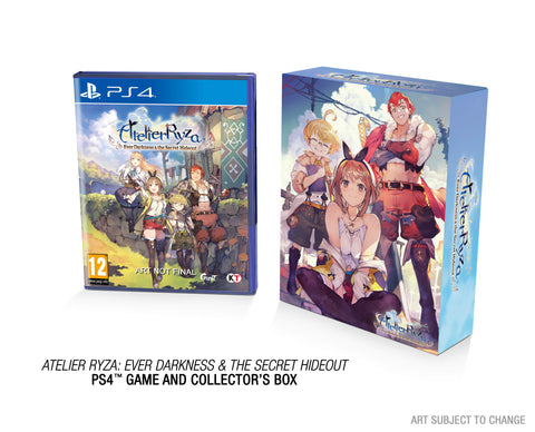 Atelier Ryza: Ever Darkness & the Secret Hideout - Limited Edition - PS4
