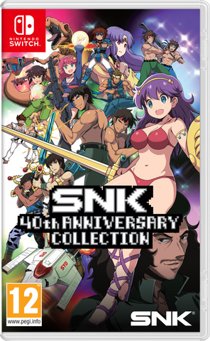SNK 40th Anniversary Collection - Standard Edition - Nintendo Switch