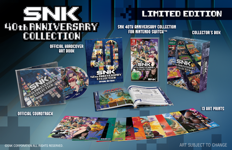SNK 40th Anniversary Collection - Limited Edition - Nintendo Switch
