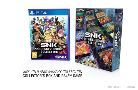 SNK 40th Anniversary Collection - Limited Edition - PS4