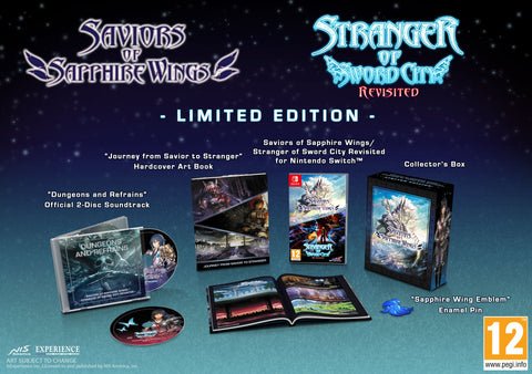 Saviors of Sapphire Wings / Stranger of Sword City Revisited - Limited Edition - Nintendo Switch™