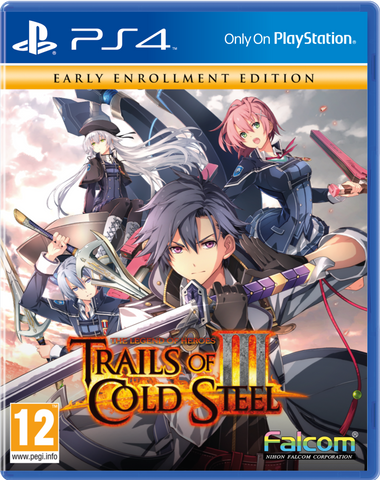 The Legend of Heroes: Trails of Cold Steel III - Early Enrollment Edition - PS4®