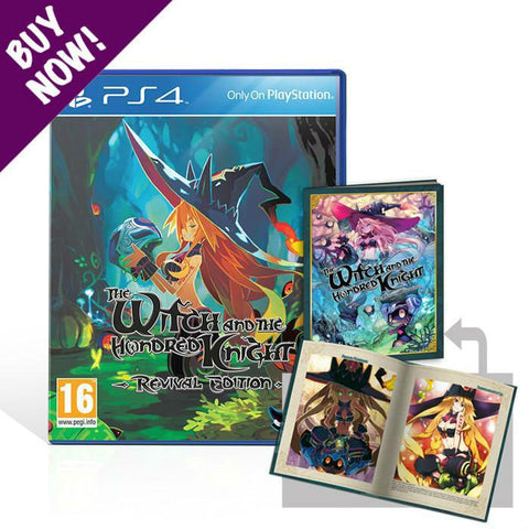 The Witch and the Hundred Knight: Revival Edition + Artbook - Standard Edition - PS4®