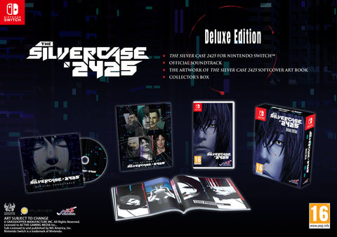 The Silver Case 2425 - Deluxe Edition - Nintendo Switch™