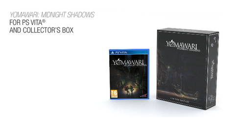 Yomawari: Midnight Shadows - Game and Collector's Box