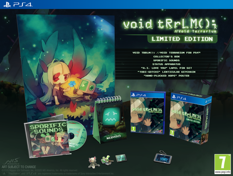 void tRrLM(); //Void Terrarium - Limited Edition - PS4®