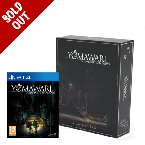 Yomawari: Midnight Shadows -  Limited Edition (PS4)
