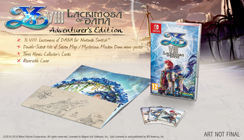 Ys VIII: Lacrimosa Of DANA - Adventurer`s Edition (Nintendo SWITCH)