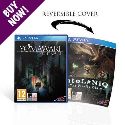 Yomawari: Night Alone / htoL#NiQ: The Firefly Diary - PSVita - Standard Edition
