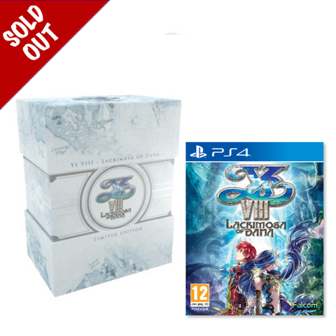 Ys VIII: Lacrimosa Of DANA - Limited Edition - PS4®